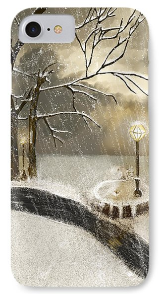 Oh Let It Snow Let It Snow Phone Case by Angela A Stanton