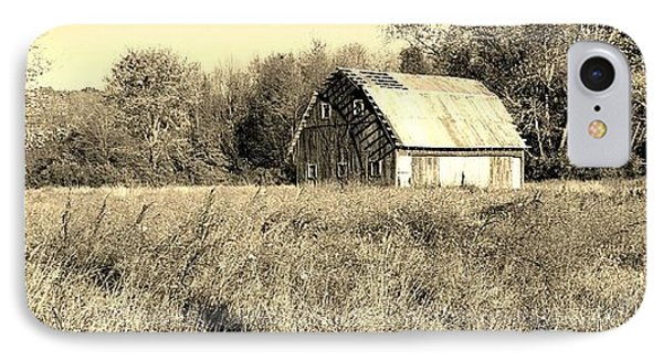 Old Barn In The Meadow IPhone Case