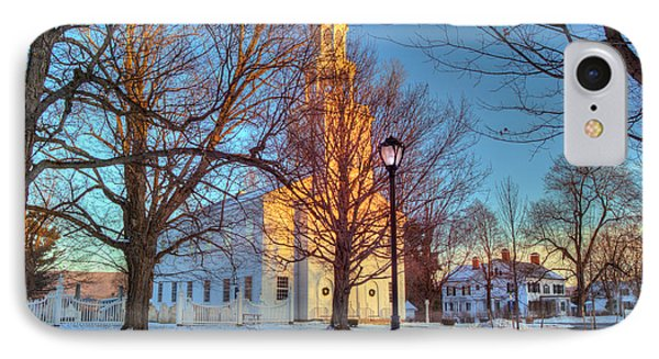 Old First Church - Bennington Vermont IPhone Case by Joann Vitali