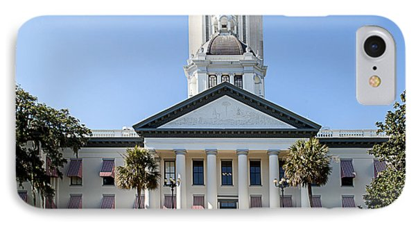 Old Florida Capitol Phone Case by Frank Feliciano