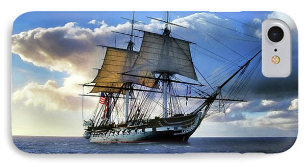 Old Ironsides IPhone Case by Peter Chilelli