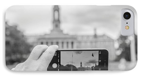 Old Main Penn State  IPhone 7 Case by John McGraw