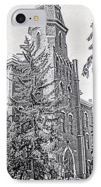 IPhone Case featuring the photograph Old Main University Of Colorado Boulder by Ann Powell