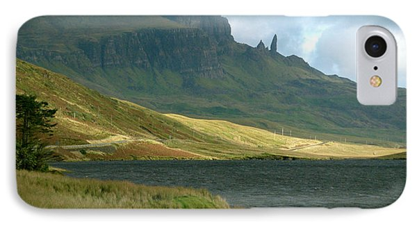 Old Man Of Storr IPhone Case by Louise Fahy