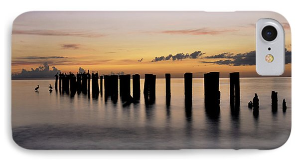 IPhone Case featuring the photograph Old Naples Pier by Kelly Wade