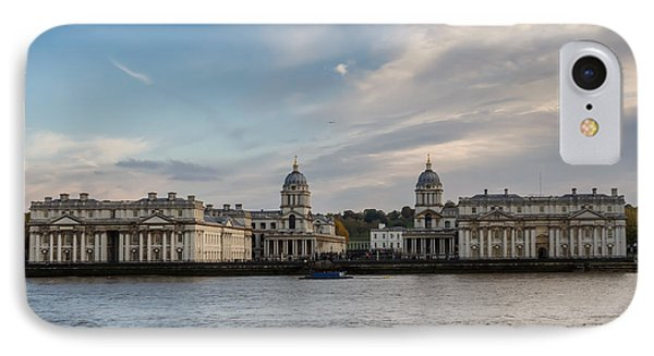 Old Royal Naval College In Greenwich Village, London IPhone Case by Frank Bach
