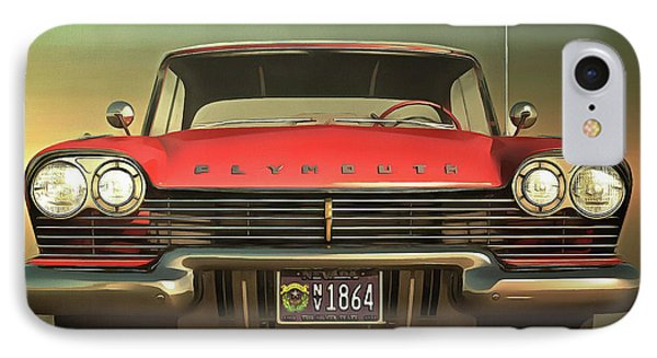 Old-timer Plymouth IPhone Case