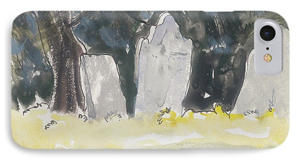 Old Tombstones IPhone Case by Arthur Dove