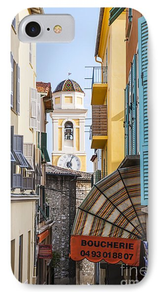 Old Town In Villefranche-sur-mer IPhone Case