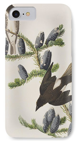 Olive Sided Flycatcher IPhone 7 Case by John James Audubon