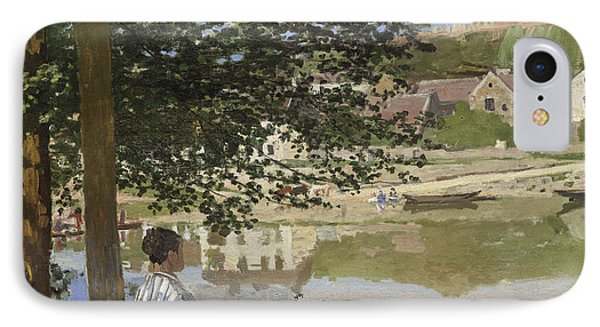 On The Bank Of The Seine, Bennecourt IPhone Case