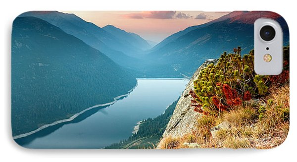 On The Edge Of The World IPhone Case by Evgeni Dinev