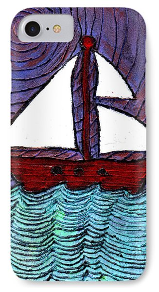 On The River Phone Case by Wayne Potrafka