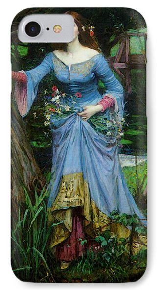 Ophelia Phone Case by John William Waterhouse