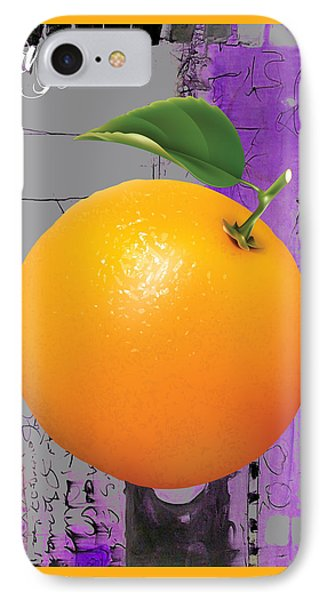 Orange Collection IPhone Case by Marvin Blaine