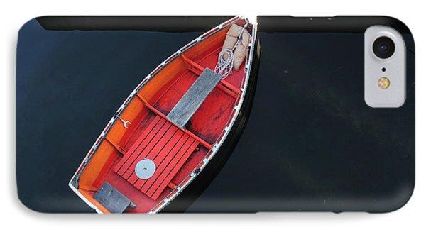 Orange Dinghy IPhone Case