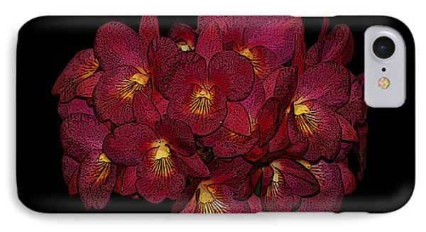 Orchid Floral Arrangement IPhone Case