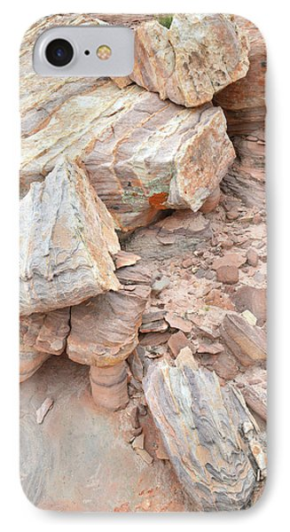 IPhone Case featuring the photograph Ornate Sandstone In Valley Of Fire by Ray Mathis