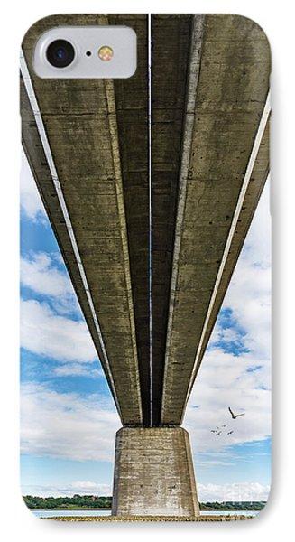 Orwell Bridge IPhone Case by Svetlana Sewell