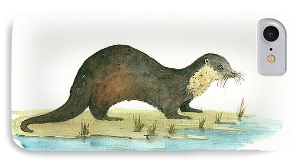 Otter IPhone 7 Case by Juan Bosco
