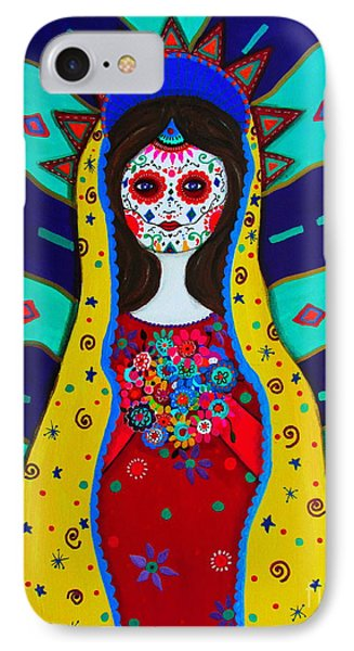 Our Lady Of Guadalupe Phone Case by Pristine Cartera Turkus