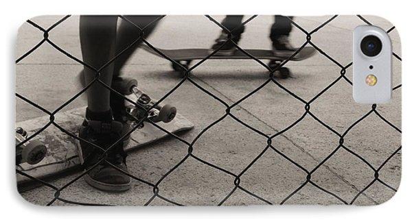 Outside IPhone Case by Beto Machado