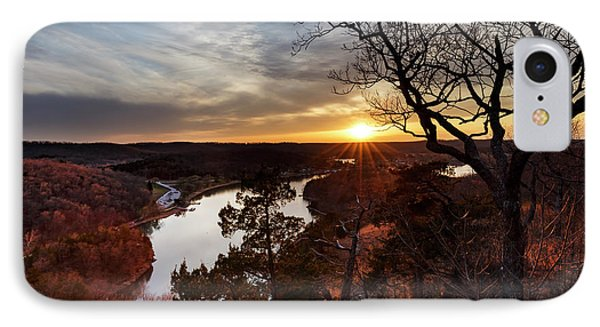 IPhone Case featuring the photograph Ozark Sunset by Dennis Hedberg