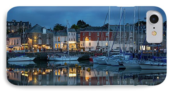 IPhone Case featuring the photograph Padstow Evening by Brian Jannsen