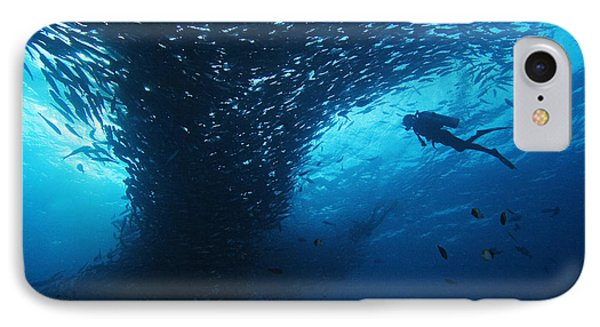 Palau, Diving Phone Case by Dave Fleetham - Printscapes