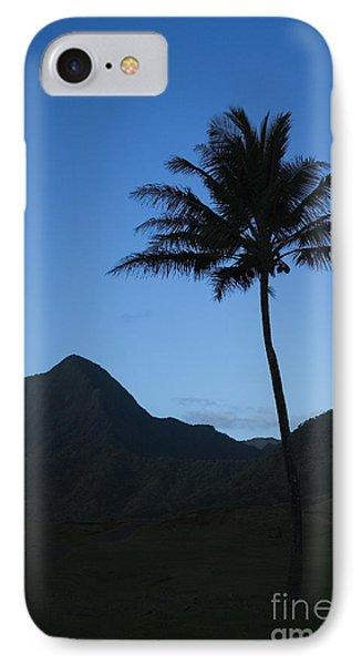 Palm And Blue Sky Phone Case by Dana Edmunds - Printscapes