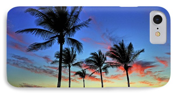 IPhone Case featuring the photograph Palm Tree Skies by Scott Mahon