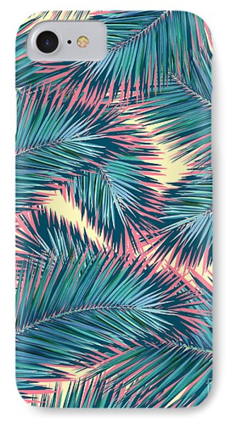 Palm Trees  IPhone 7 Case by Mark Ashkenazi