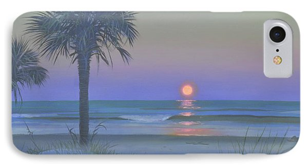 Palmetto Moon IPhone Case by Blue Sky