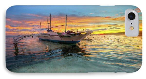 Panglao Island Sunrise IPhone Case by Yhun Suarez