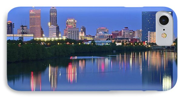 Panoramic Indianapolis IPhone Case by Frozen in Time Fine Art Photography
