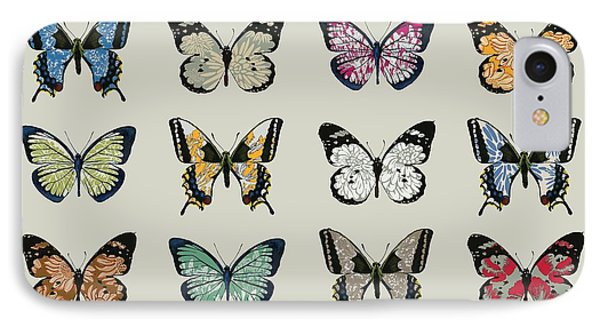 Papillon IPhone 7 Case by Sarah Hough