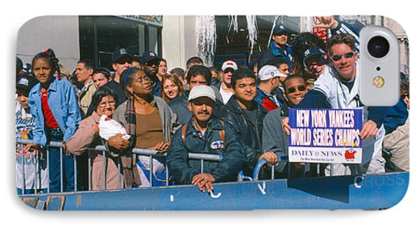 Parade For 1998 World Series Champions IPhone Case by Panoramic Images