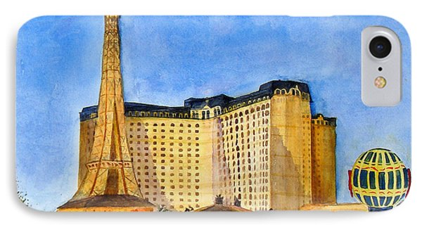 Paris Hotel And Casino IPhone Case by Vicki  Housel