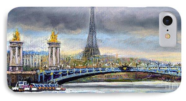 Paris Pont Alexandre IIi IPhone Case