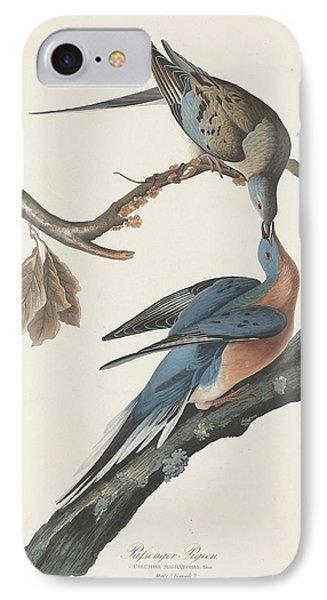 Passenger Pigeon Phone Case by Anton Oreshkin