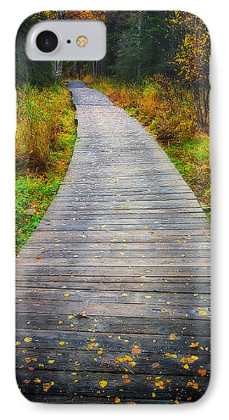 Pathway Home IPhone Case by Ed Boudreau