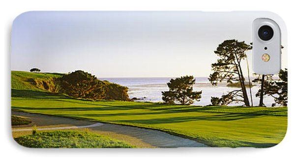 Pebble Beach Golf Course, Pebble Beach IPhone Case by Panoramic Images