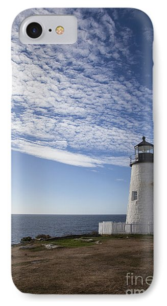Pemaquid Lighthouse IPhone Case by Timothy Johnson