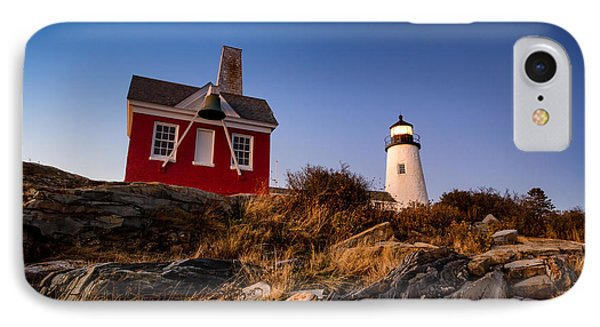 IPhone Case featuring the photograph Pemaquid Sky by Robert Clifford