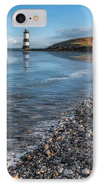 Penmon Point Lighthouse IPhone Case by Adrian Evans