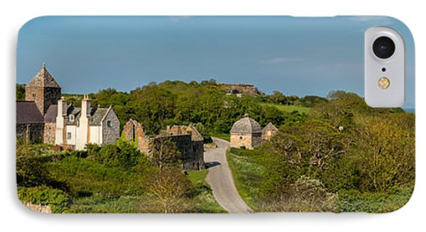 Penmon Priory IPhone Case by Adrian Evans