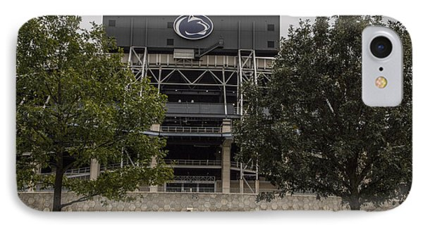 Penn State Beaver Stadium  IPhone Case by John McGraw