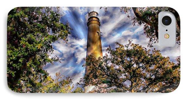 Pensacola Lighthouse IPhone Case by Anthony Dezenzio