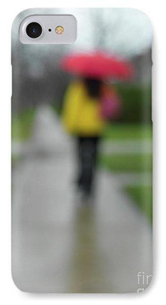 People In The Rain Phone Case by Oleksiy Maksymenko