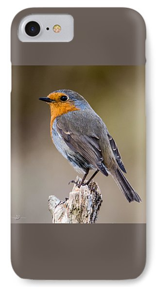 Perching IPhone Case by Torbjorn Swenelius